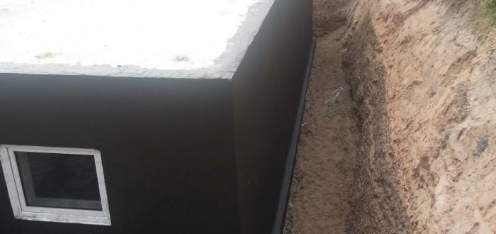Keller fertig abgedichtet
