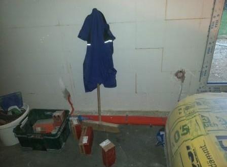 So sieht es auf der Baustelle aus