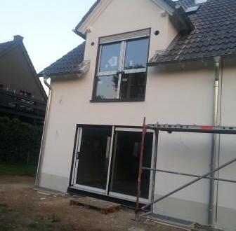 Dach fertig hinten