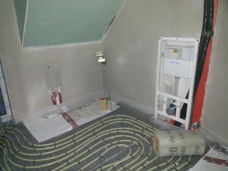 Fußbodenaufbau Bad ~ Fußbodenaufbau heizung und estrichu wir bauen unser haus