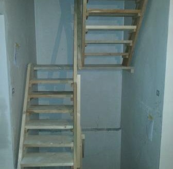 Bautreppe ist da