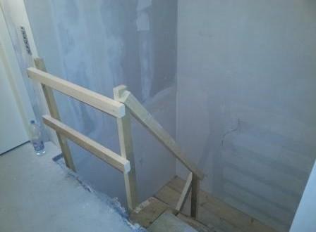 Bautreppe von oben
